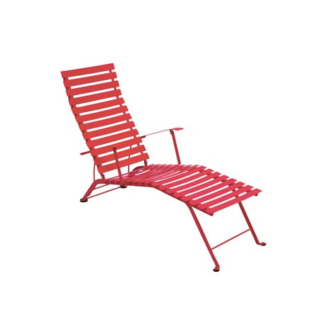 Deck chair bistro fermob les jardins d 39 h m ra for Table extensible fermob