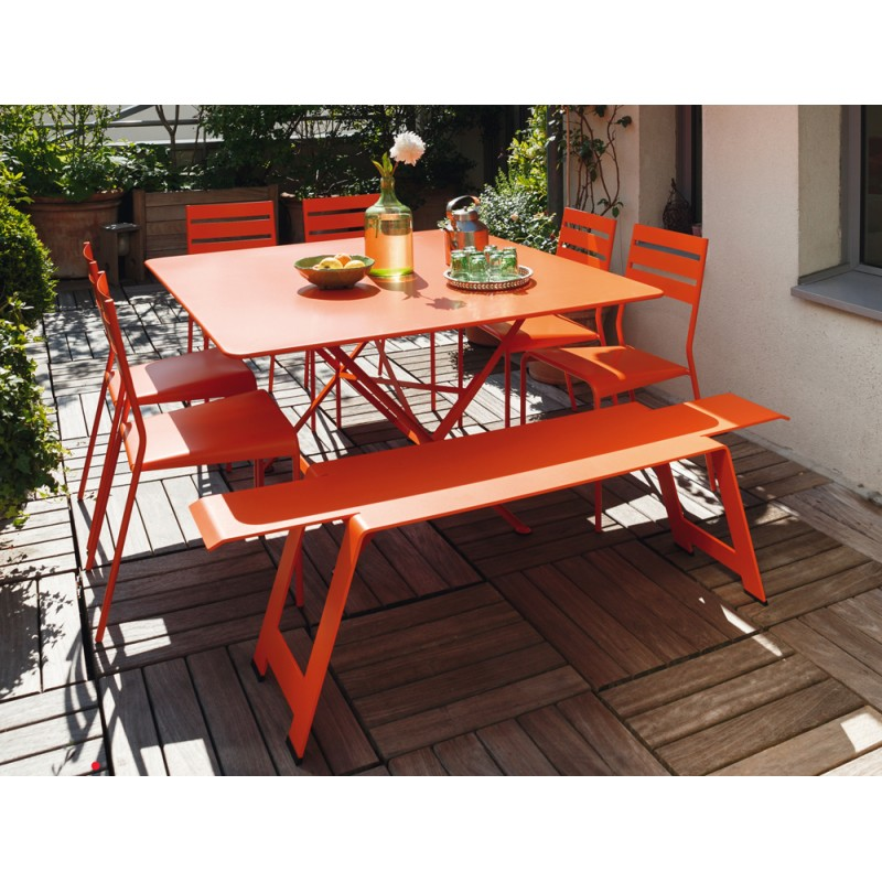 Cargo Garden Furniture Table 128x128cm cargo fermob les jardins dhmra table 128x128cm cargo fermob workwithnaturefo