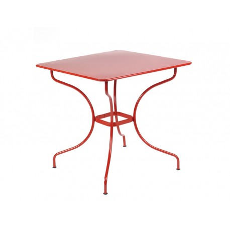 Table 77x77cm Opéra Fermob