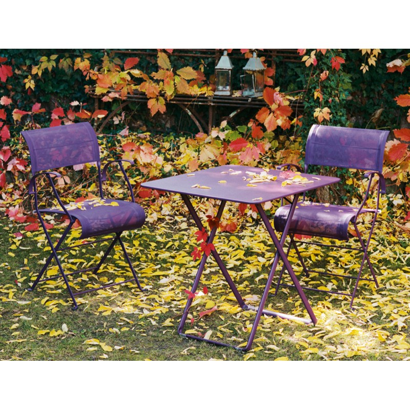 table 71x71cm plein air fermob les jardins d 39 h m ra. Black Bedroom Furniture Sets. Home Design Ideas