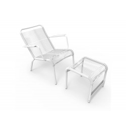 Low armchair footrest Saint Tropez Fermob