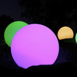 Boule lumineuse sans fil Ø 50 cm SMART & GREEN