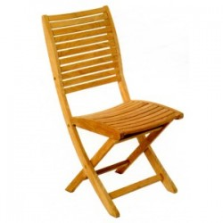 Sillage teak chair - Les Jardins