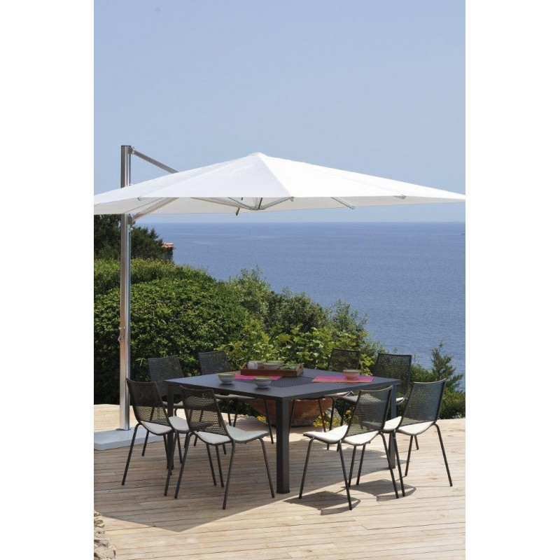parasol d port shade 3 x 3 m emu les jardins d 39 h m ra. Black Bedroom Furniture Sets. Home Design Ideas