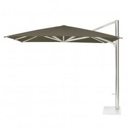 Shade umbrella with side pole 3 x 4 m - Emu