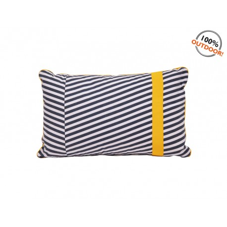Coussin Outdoor Cabanon Gris Nuit
