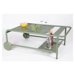 Side table Bar with wheels  Luxembourg Fermob
